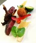 canard-sauvage-croquette-legumes-de-saison
