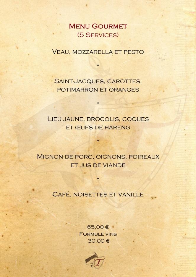 menu gourmet 22 - Janvier